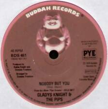 "[BARRY MANN] GLADYS KNIGHT & THE PIPS ~ NOBODY BUT YOU ~ 1976 UK 7"" SINGLE"