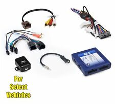 Car Stereo Radio Replacement Wire Harness OnStar Adapter Interface for select GM