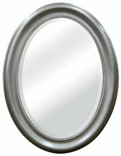 MCS Brushed Nickel Oval Mirror Frame, 22.5 by 29.5-Inch , New, Free Shipping