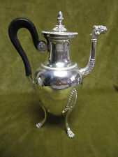 Verseuse argent vieillard (1819-1838) 582gr (french silver coffee pot) st empire