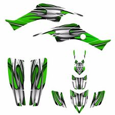 Custom Graphics kit for Honda TRX 400 EX 1999 - 2007 400EX stickers #1200Green