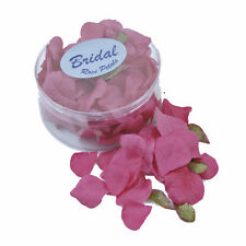 Rose Petals silk wedding table confetti Cerise Hot Pink