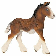 ANIMAUX SCHLEICH 13736 POULAIN SHIRE NEUF