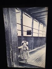 Little Orphan Annie, 1909 Photo. Photography 35mm Glass Slide