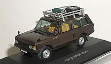 RANGE ROVER 1/43 Range Rover Classic Brown
