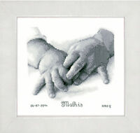 Baby Hands : Vervaco Counted Cross Stitch Kit - PN0150172