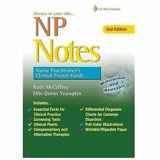 NP Notes: Nurse Practitioner's Clinical Pocket Guide by Ruth McCaffrey.