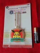 "POKEMON PIKACHU RUBBER MASCOT / Diameter2.2"" 5.5cm JAPAN BANPRESTO / UK DESPATCH"