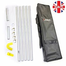 20ft 6m Gutter Vacuum Pole Kit Set Drain Hoover Cleaning System & Carry Bag