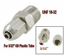 "Pneumatic Gas Air Hose Quick Connector Fitting UNF 10-32 for 5/32"" OD Tube  L-3_"