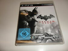 PlayStation 3  PS 3  Batman: Arkham City