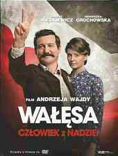 WALESA, CZLOWIEK Z NADZIEI, A. WAJDA,  Polish DVD, Polski film, New and Sealed