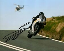 Guy Martin 2010 Isle of Man TT 16 x 12 Autographed Heli Photo & certificate.