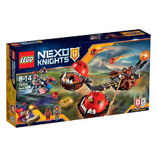 70314 lego beast master's chaos chariot nexo chevaliers ™ 8-14 ans/314 pcs/neuf