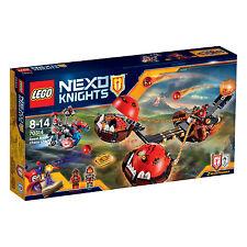 70314 LEGO BEAST MASTER'S Chaos CARRO Nexo CAVALIERI ™ età 8-14/314 PC/NUOVO