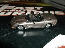 Racing Champions The Fast and the Furious 1:64 Chevrolet Corvette silver