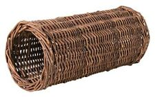 Natural Wicker Tunnel Play Toy for Hamster Mouse Mice Cage by Trixie