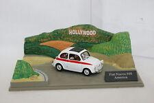 Altaya 1/43 - Diorama Fiat 500 America