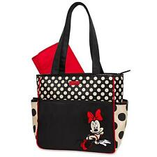 Disney Minnie Mouse Diaper Bag & Changing Pad - Polka Dot Free Shipping New