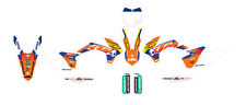 KTM OEM BRIGADE REPLICA GRAPHICS ORANGE 2013-15 150 250 300 SX/SXF/XC UPP1508010