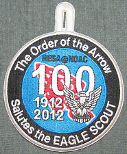 2012 NOAC NESA Eagle Scout Patch MINT! OA National Order of the Arrow Conference