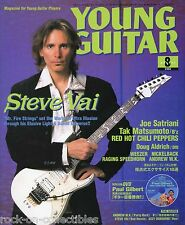 Young Guitar Magazine August 2002 Japan Steve Vai David Bowie Mr. Big