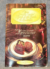 OMAHA STEAKS Good Life Guide & COOKBOOK 1995-1996 Edition,Great Recipes FREE SHP