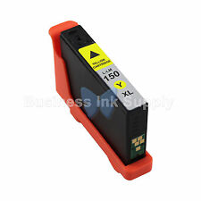 1 YELLOW 150XL New High Yield Compatible Ink Cartridge for LEXMARK 150XL 14N1618