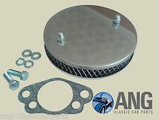 "ROVER SD1 2300/2600 STAINLESS STEEL HS6 (1 ¾"") SU PANCAKE AIR FILTER & GASKET"