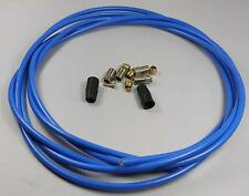KEVLAR HYDRAULIC DISC BRAKE HOSE KIT FOR AVID ELIXIR 1 3 BLUE