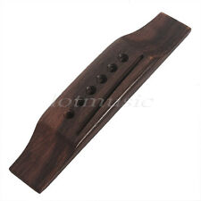 6 String Acoustic Guitar Saddle Bridge for Martin Replacement Parts Rosewood