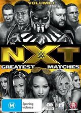 WWE - NXT - Greatest Matches : Vol 1 (DVD 2016) Brand New, Genuine & Sealed  D55