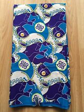 Nueva Impresión de Algodón Africano Tela Ankara hermosos colores llamativos vendido por yarda