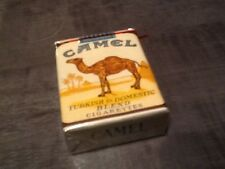 "ancien Paquet de cigarette plein""camel us army annee 50"" collection uniquement"