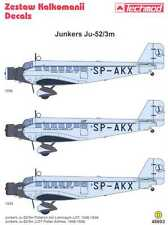 Techmod Decals 1/48 JUNKERS Ju-52 LOT POLISH AIRLINES 1936-1939