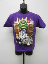 NEW-STAR WARS JABA THE HUT CHEWY C3PO R2D2 YOUTH MEDIUM M SIZE 10-12 SHIRT 65WG