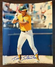 TERRY STEINBACH  AUTOGRAPH PHOTO Signed in 1989 Sports Collector Show G7105710
