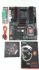 USED - MSI 970 GAMING Socket AM3+ AMD DDR3 SATA 6Gb/s USB 3.0 ATX Motherboard