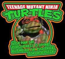 "90's Classic Teenage Mutant Ninja Turtles ""Wise Man Say"" custom tee Any Size"