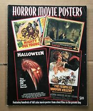 HORROR MOVIE POSTERS  VOL 7 THE ILLUSTRTATED HISTORY OF MOVIES THROUGH POSTERS