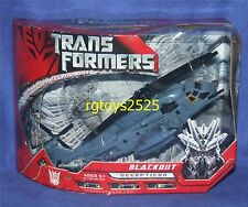 Transformers Movie Voyager Class Decepticon BLACKOUT New Factory Sealed 2006