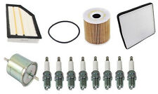 Volvo XC90 05-07 V8 4.4L Tune Up Kit w/ Fuel Oil Air Cabin Filters & Spark Plugs