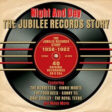 NIGHT AND DAY - THE JUBILEE RECORD STORY 1958-1962 (NEW SEALED 2CD SET)
