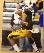 Robert Herron Signed 8x10 Football Photo Wyoming W/ COA & Proof