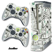 Skin Decal Wrap for Xbox 360 Original Gaming Console & Controller Xbox360 BALLIN