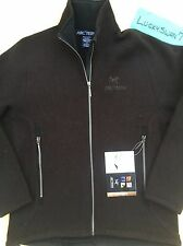 NWT 100%+ L-XL RARE ARCTERYX GOTHIC CARDIGAN WOMENS L CAROB SWEATER JACKET WOOL