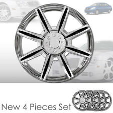 """NEW 16"""" ABS CHROME WHEEL RIM HUBCAPS COVER 541 FOR NISSAN"""