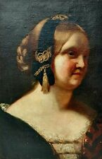 Just Discovered Dutch School of Rembrandt 17C Woman Portrait Old Master Painting