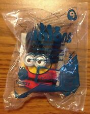 Minions Movie MCDONALDS Happy Meal Toys 2015 #9 Talking Minion Guard Sealed
