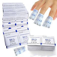 40pcs Nail Art Soak Off Acrylic Shellac Acetone Gel Polish Remover Cleaner Wrap
